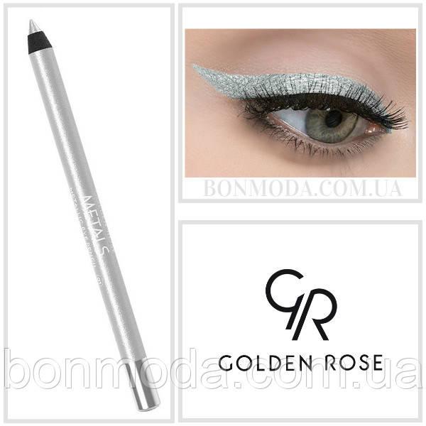 Golden Rose Карандаш для глаз Металлик Metals Metallic Eye Pencil № 01