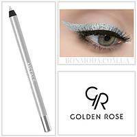 Golden Rose Карандаш для глаз Металлик Metals Metallic Eye Pencil № 01, фото 1