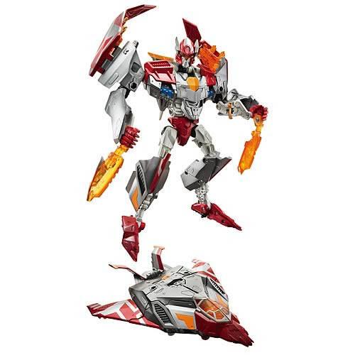 """Трансформер Hasbro """"Reveal The Shield"""" Voyager Class Decepticon STRAFE, level 3/5 (реактивный боевой самолет)"""