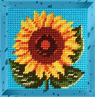 Детский набор для вышивания X-2037: Соняшник