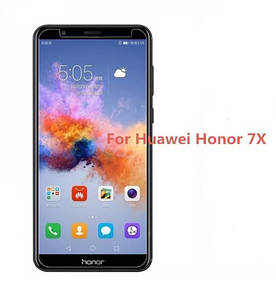 Huawei Honor 7x Защитное БРОНИРОВАННОЕ СТЕКЛО