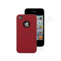 """Чехол накладка на iPhone 4/4S, Moshi iGlaze """"Snap on Case"""", красный"""