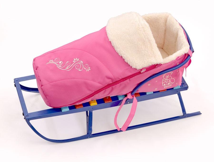 Конверт для санок Baby Breeze 0305 (розовый)