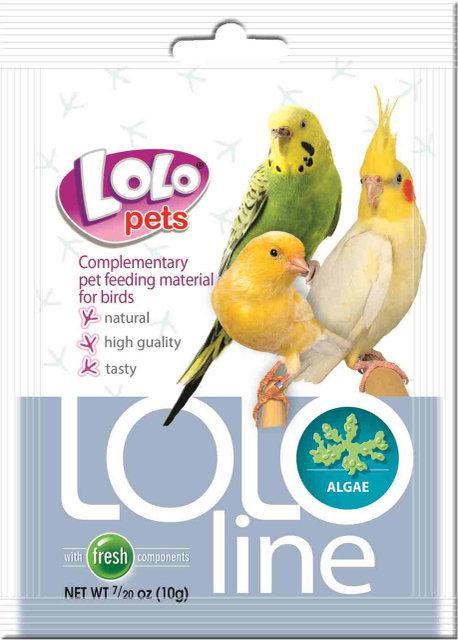 LOLOLine уголь для птиц 10гр. Lolopets