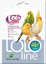 LOLOLine водоросли для птиц 10гр. Lolopets