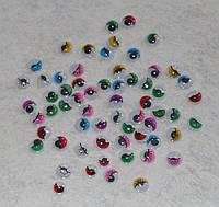 Оченята бігають з віями Асорті 14292 упаковка 5 пар, фото 1