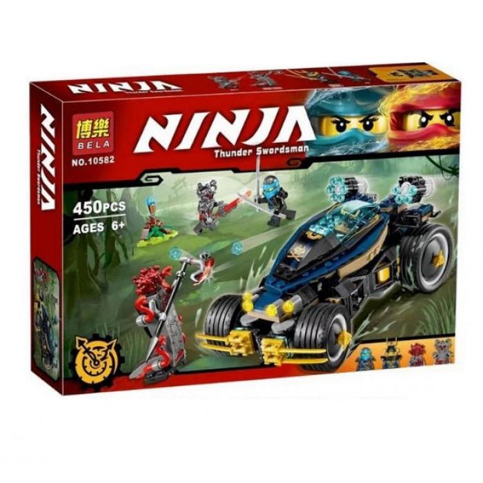 Конструктор Bela Ninja 10582 (аналог Ninjago 70625