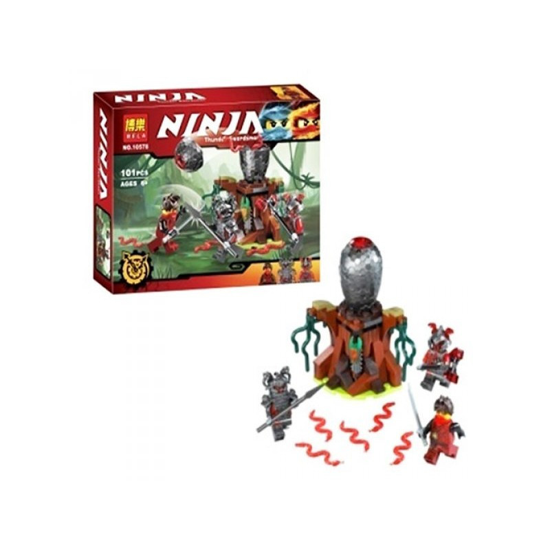 Конструктор Bela Ninja 10578 (аналог Lego Ninjago 70621)
