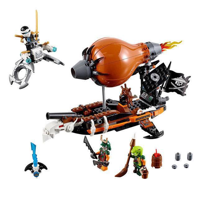 Конструктор Bela Ninja 10448 (аналог Lego Ninjago 70603)