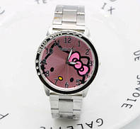 Детские кварцевые часы Hello Kitty сталь для девочки