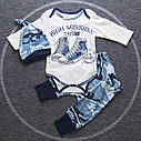 Комплект для малышей тройка Кеды, фото 2