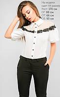 Женская классическая шифоновая блуза