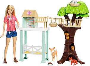Набор Барби Центр ветеринара и ухода за животными с куклой Barbie Animal Rescuer Center Doll, фото 2