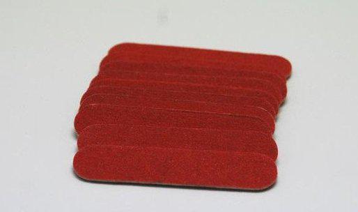 Пилочка для маникюра 4,5 см, одноразовая (упаковка 10 шт.)