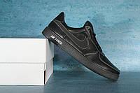 Детские кожаные кроссовки кеды Nike