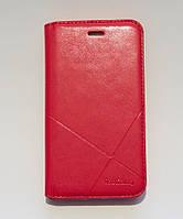 Чехол-книжка для смартфона Huawei Y6 Pro (TIT-U002) красная