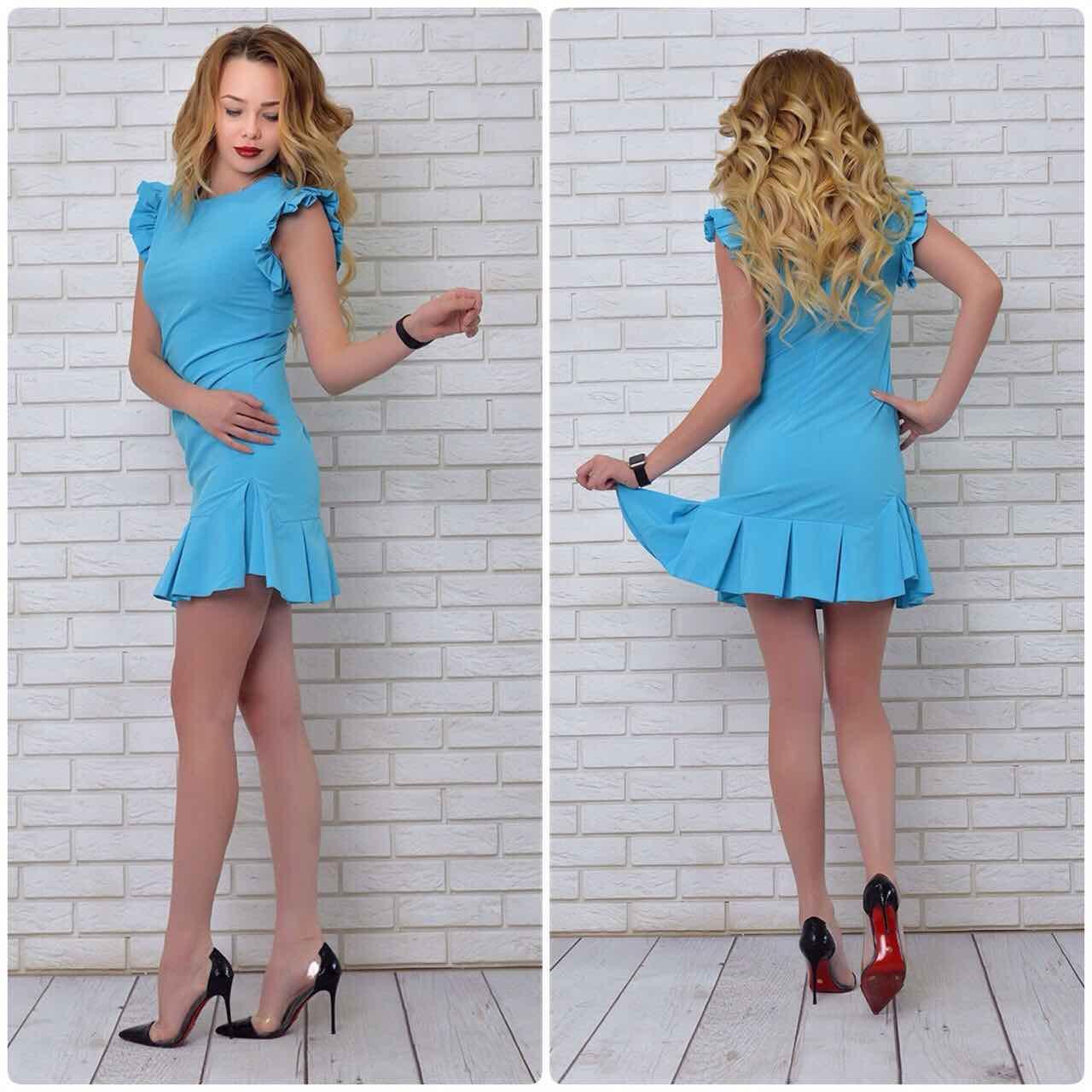 Платье, модель 782, цвет - бирюза