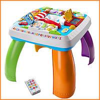 Детский развивающий столик Город с технологией Smart Stages Fisher-Price Laugh Learn Around The Town