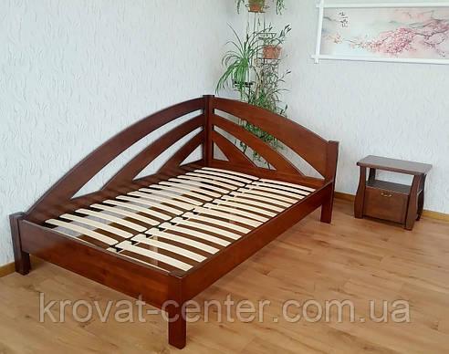 """Полуторная кровать """"Радуга"""". Массив - ольха, береза, дуб., фото 2"""