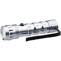 Фонарик светодиодный, алюминиевый корпус, влагозащищённый, 12 Led, 3хААА, Stern