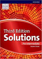 Solutions 3rd Edition Pre-Intermediate Student's Book (Учебник)