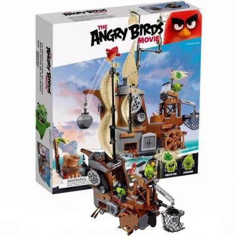 Конструктор Angry Birds 19005 «Пиратский корабль свинок» 6