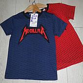 Детские трикотажные футболки для мальчиков оптомGRACE