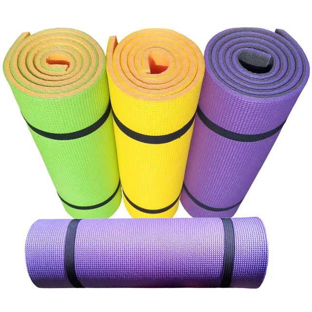 Купить коврик для йоги и фитнеса «Premium-12» для фитнеса