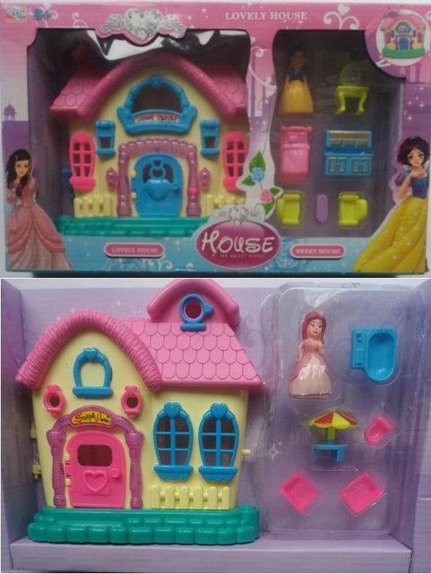 Игровой набор: Домик Белоснежки, принцессы 3926