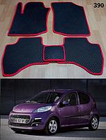 Коврики на Peugeot 107 '09-14. Автоковрики EVA