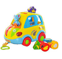 "Развивающая игрушка машинка-сортер ""Автошка"" 9198"
