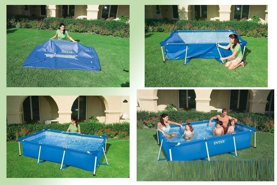 Каркасный бассейн сборный Small Frame Intex 28272 (58981) (300*200*75