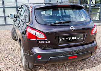 Спойлер козырек заднего стекла Nissan Qashqai (пластик)