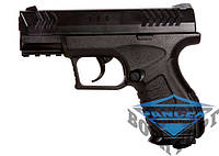 Пневматический пистолет Umarex XBG к.4,5мм BB,120 м/с, баллон СО2,19-ти заряд магазин, 400 гр.