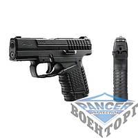 Пневматический пистолет Umarex Walther PPS, к.4,5мм BB, 125 м/с, черный металический затвор и блоу-бэк