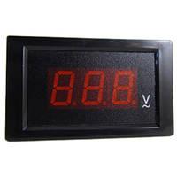 Вольтметр шкафной АС80-500v черный