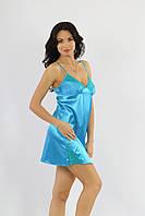 Сорочка ночная женская голубая, ТМ Ksena
