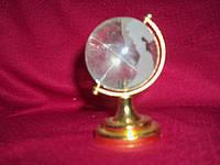 Хрустальный глобус диаметр 5 см