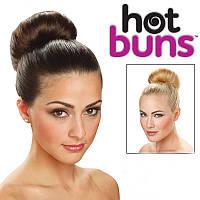 """Валики для создания объёмной причёски """"Hot buns""""  Новинка!"""