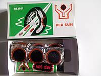 Клей + резиновые латки (круглые) Red Sun №3601