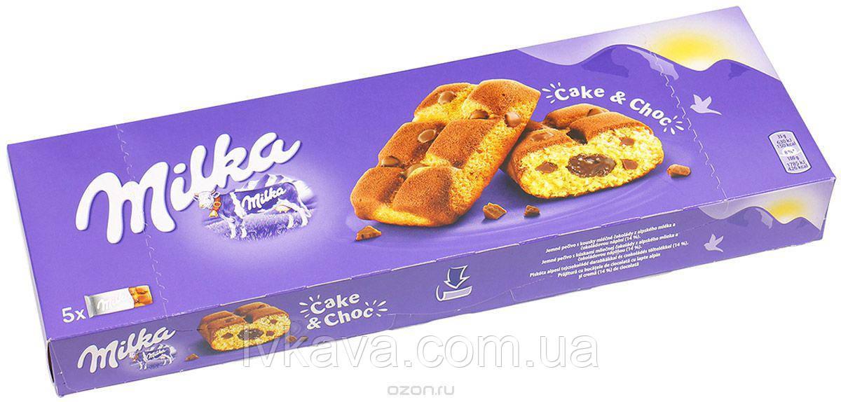 Бисквит Milka Cake&Choc, 5 шт х 35 гр