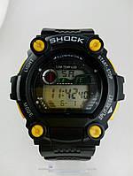 Часы наручные, Резиновый ремешок, Цифровой дисплей, Shock, Механизм електронный.