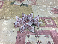 Перегородка для конфет / 120х120х30 мм / 9 ячеек / Маленьк / печать-Сердц.Красн / лк, фото 1