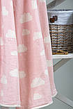 Плед детский Cloud 130х170 розовый Barine, фото 2