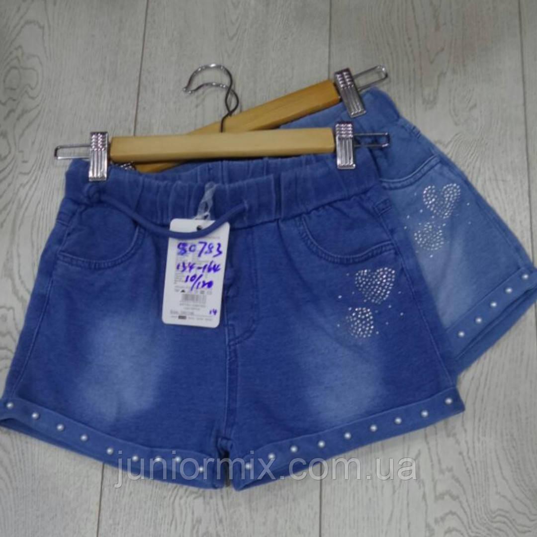 Подростковые котоновые шорты для девочек оптом GRACE