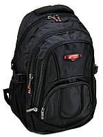 Мужской городской рюкзак черного цвета