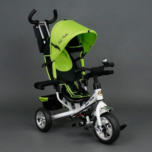 Детский трехколесный велосипед Best Trike 6588 салатовый (колеса пена)