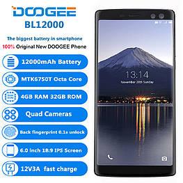 Смартфон Doogee BL12000 Black 4/32gb 6,0'' MediaTek MT6750T 12000 мАч