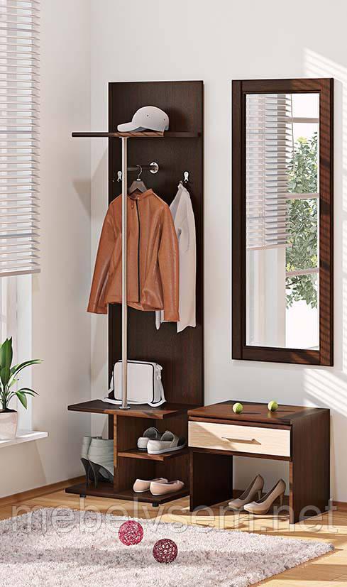 Прихожая ВТ 3907 серии Софт от Комфорт мебель