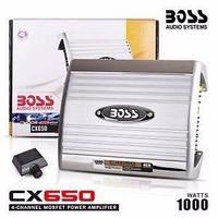 BOSS Audio CHAOS EXXTREME CX650 Автомобильный усилитель 1000W 4х канальный